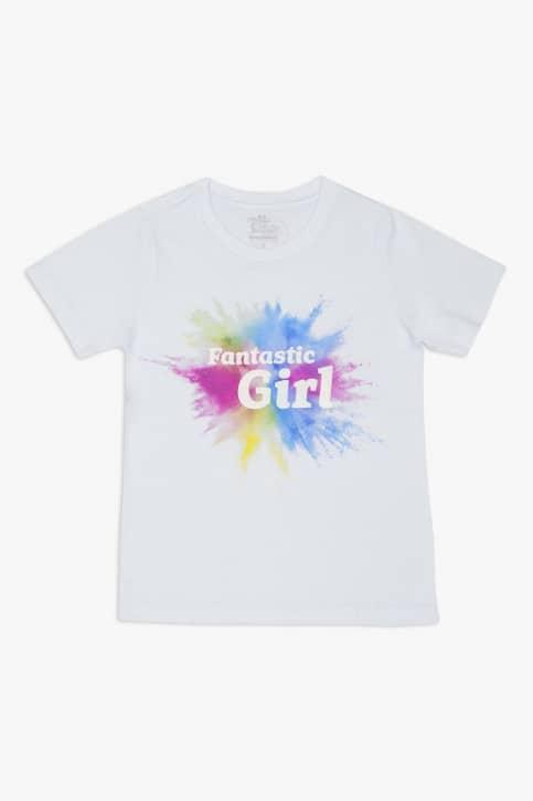 Camiseta teen Fantastic Girl - Muda de cor no sol